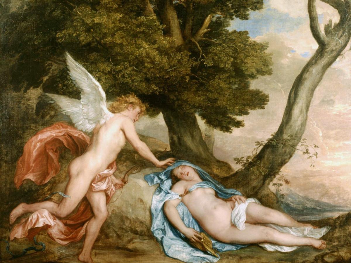 Antoon van Dyck, Amore e Psiche, 1638-1640