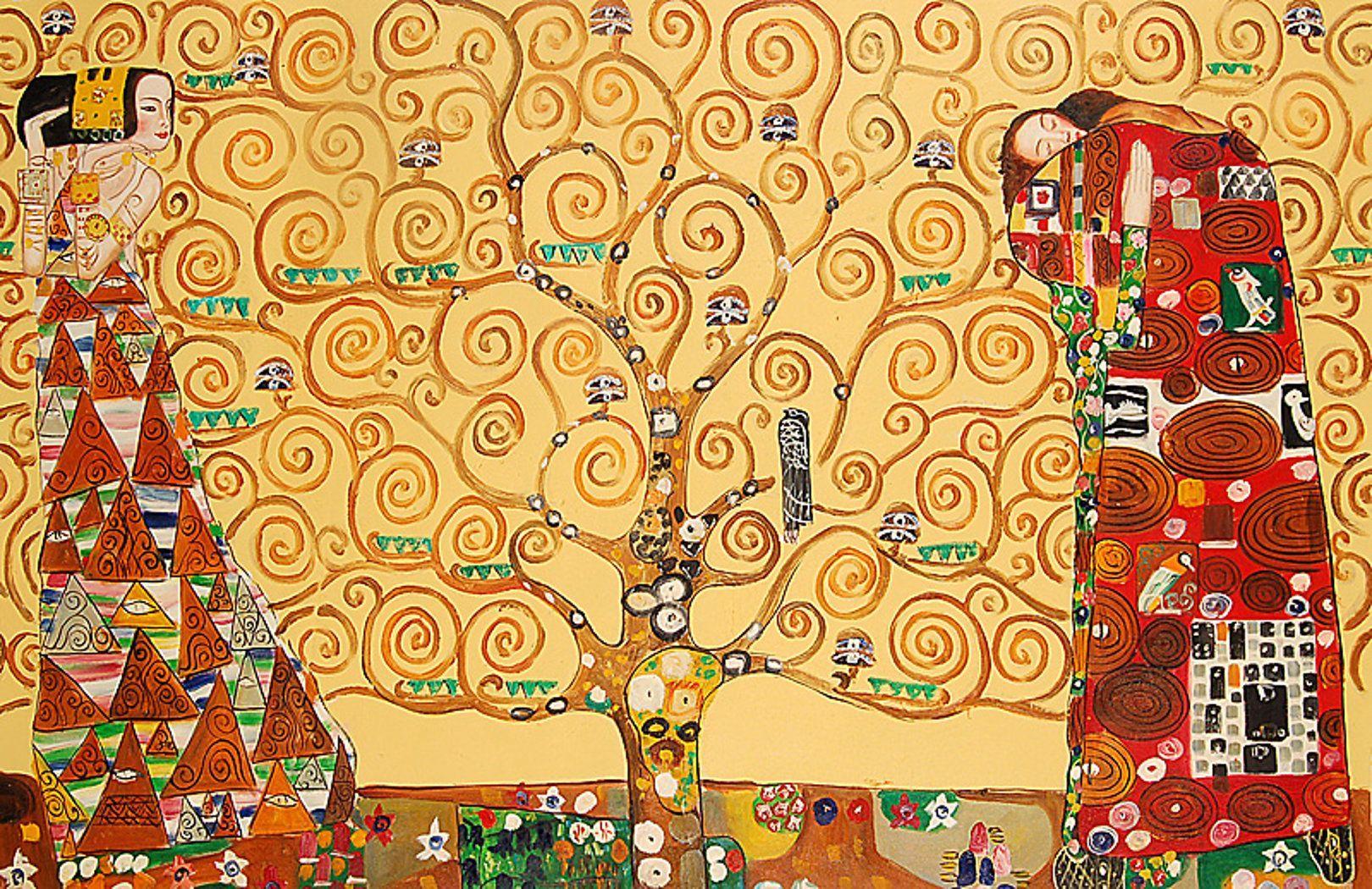 Gustav Klimt, L'albero della vita, 1905-1909